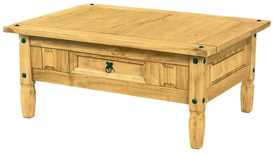 Mexican Pine Large Coffee Table