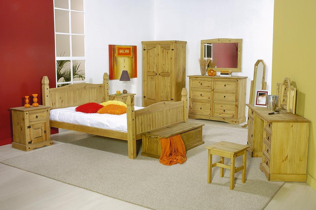 Pine Bedroom Furniture - Mexican Corona